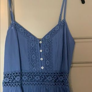 Abercrombie and Fitch blue summer dress, Size S
